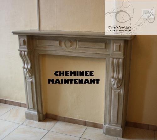 peindre une cheminee peindre cheminee en pierre galerie avec craation de des photos peinture. Black Bedroom Furniture Sets. Home Design Ideas